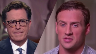Stephen Colbert Tears Ryan Lochte's Rio 'Exaggeration' Apart In A 'Face-To-Face' 'Interview'