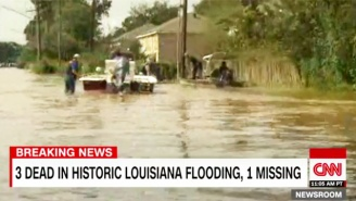 Louisiana Governor: Nearly 20,000 People Have Been Rescued From Rising Floodwaters
