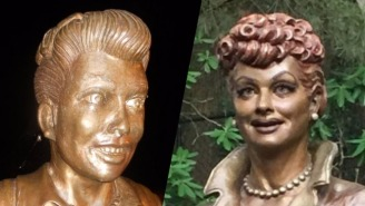 That Frightening Lucille Ball Statue Has Finally Met A Suitable Replacement
