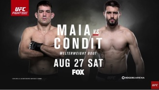 UFC On Fox 21 And Bellator 160 Live Discussion: Maia Vs. Condit And Henderson Vs. Pitbull