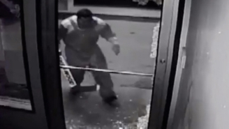This Hoser Robbing A Store In Full Hockey Gear To Score Beer Is The Most Canadian Heist Ever