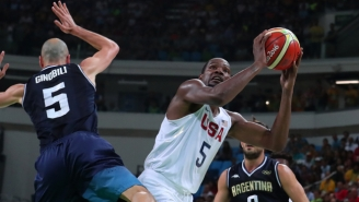 Did Kyrie Irving Or Kevin Durant Score The Most Beautiful Bucket Against Argentina?