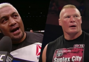 Mark Hunt Gives His Emoji-Heavy Thoughts On Brock Lesnar's SummerSlam Main Event