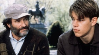 Matt Damon Recalls A Special 'Good Will Hunting' Scene With Robin Williams