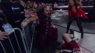 Matt Hardy Ate A Guy On Impact And Revealed That He's An Ancient Vampire, Or Something