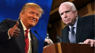 John McCain Distances Himself And The GOP From Trump's Battle With The Khan Family