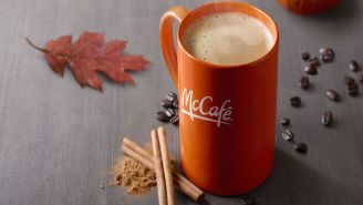 McDonald's Shatters The Space-Time Continuum By Launching Pumpkin Spiced Lattes In August