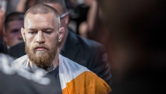 An Exhausted Conor McGregor In His Underwear May Be The Most Awkward Fan Photo Ever