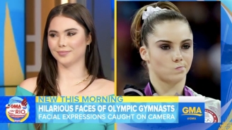 McKayla Maroney Did 'The Face' On 'Good Morning America'