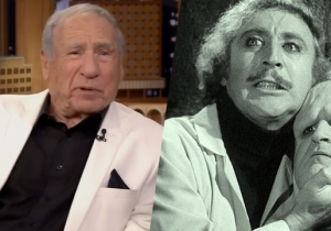 Mel Brooks Tells The Delightful Story About The First Time He Met Gene Wilder