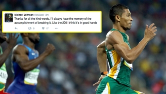 Michael Johnson Had The Perfect Response To His World Record Getting Broken