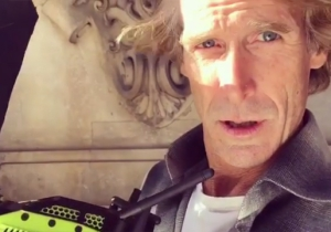 Michael Bay's Custom-Made 'Bayhem' Camera Is 'F*ck You Green' And He Uses It To 'Sell Panties'