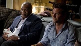 Mike Tyson Gave 'Hangover' Co-Star Bradley Cooper A Bejeweled Championship Belt As A Gift