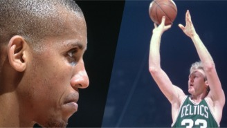 Reggie Miller Actually Agrees That A Prime Larry Bird Could Out-Shoot Him From Deep