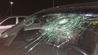 A Minor League Baseball Player Hit A Grand Slam That Broke The Windshield Of His Car