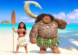 The New Trailer For Disney's 'Moana' Promises A Big Adventure This Thanksgiving