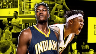 Myles Turner Explains Why He Shows 'No Mercy' Going One-On-One Against His Kid Campers
