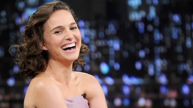 "Natalie Portman Visits ""Late Night With Jimmy Fallon"""