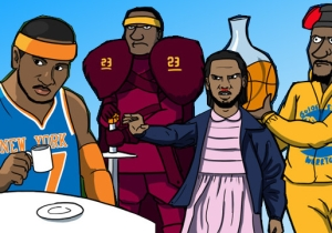 Imagining What It Would Look Like If NBA Players Starred In Our Favorite TV Shows