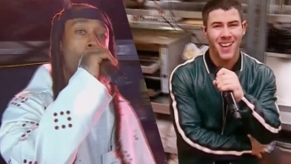 Nick Jonas And Ty Dolla $ign Gave A Sizzling Performance Of 'Bacon' At The VMAs