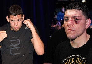 The NAC Is Waiting For Nick Diaz To Sign Papers Allowing Him To Be In Nate's Corner Tonight At UFC 202
