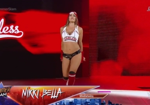 Watch Nikki Bella Return From Career-Threatening Neck Surgery At WWE SummerSlam