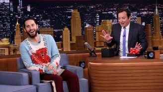 "Jimmy Fallon and Jared Leto play ""Pup Quiz"" on 'The Tonight Show'"