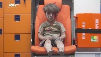 Syrian President Bashar Al-Assad Insists The Viral 'Boy In The Ambulance' Photo Is Fake