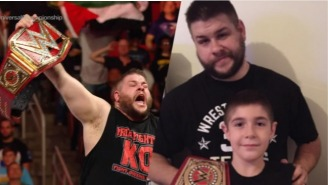 Kevin Owens' Son Had The Best Reaction To His Dad Winning The WWE Universal Championship