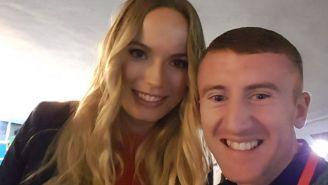 An Irish Boxer Tried To Rile Up Rory McIlroy By Taking A Selfie With Caroline Wozniacki