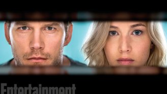 Get your first look at 'Passengers' stars Jennifer Lawrence and Chris Pratt