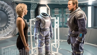 Jennifer Lawrence And Chris Pratt Are Interstellar Lovers In 'Passengers'