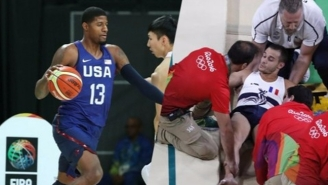 Paul George Wants To Meet And Console The Olympic Gymnast Who Broke His Leg