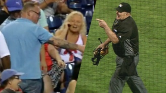 A Phillies Fan Was Tossed By The Ump After Yelling A Not Nice '69' Joke At Him
