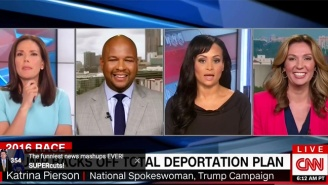 Katrina Pierson Tries To Convince A Laughing CNN Panel That Trump Hasn't Changed On Immigration