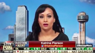 Katrina Pierson Figuratively Claims Reporters 'Literally Beat Trump Supporters Into Submission'