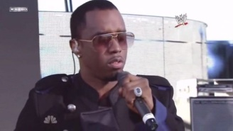 Puff Daddy Is Guest Starring On Next Week's WWE Raw Because He Won't Stop
