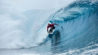 Watch 44-Year-Old Kelly Slater Score The Ninth Perfect Heat Ever In Tahiti