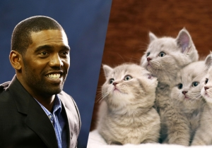 Randy Moss Implores You To Look At These Adorable Kittens He Found On Vacation