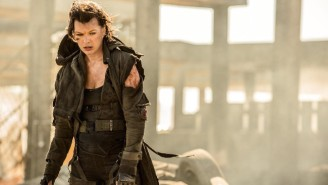 Milla Jovovich Has A Triple-Barrel Shotgun In The Trailer For 'Resident Evil: The Final Chapter'