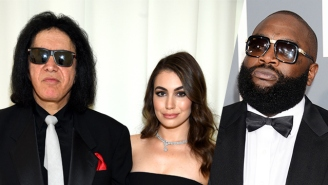 Gene Simmons' Daughter Sophie Is A Big Fan Of Rap And She Even Wrote A Song For Rick Ross