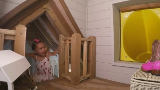Steph Curry's Daughter Got An Incredible Playhouse Even Adults Would Be Lucky To Live In