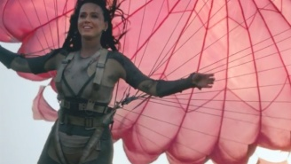 Katy Perry Drops The Official Music Video For Her Olympics Anthem 'Rise'