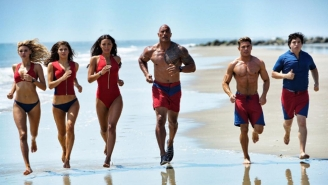 Zac Efron Endorses 'Baywatch' Co-Star Dwayne Johnson For President