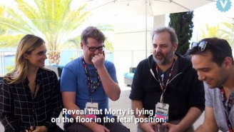 The Cast Of 'Rick And Morty' Recorded A Live Mini-Episode Teasing A Full Length Movie