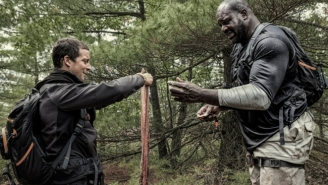 What's On Tonight: Bear Grylls And Shaquille O'Neal Go On A Boys' Trip On 'Running Wild'