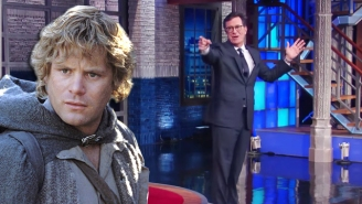 Let Stephen Colbert Explain All About 'Lord Of The Rings,' Even Stuff You Didn't Want To Know