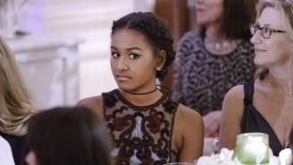 Even First Teen Sasha Obama Is Working A Summer Job