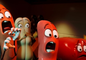 'Sausage Party' surprises at the box office, 'Suicide Squad' stays on top
