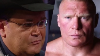 Jim Ross Weighs In On Brock Lesnar Being Exempt From WWE Drug Testing